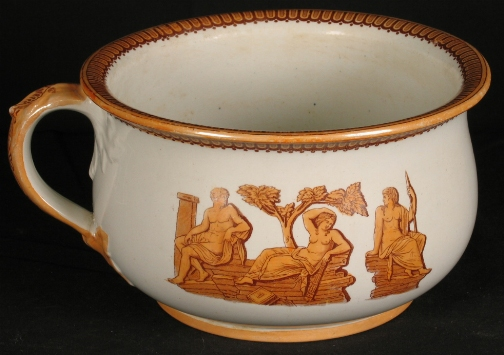 chamber pot for shit