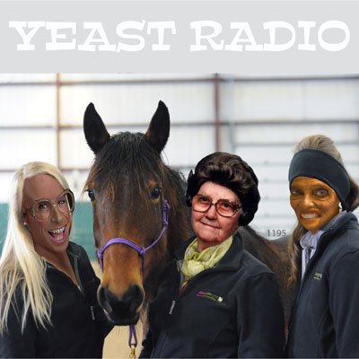 cheryl and debra having sex with horses on yeast radio